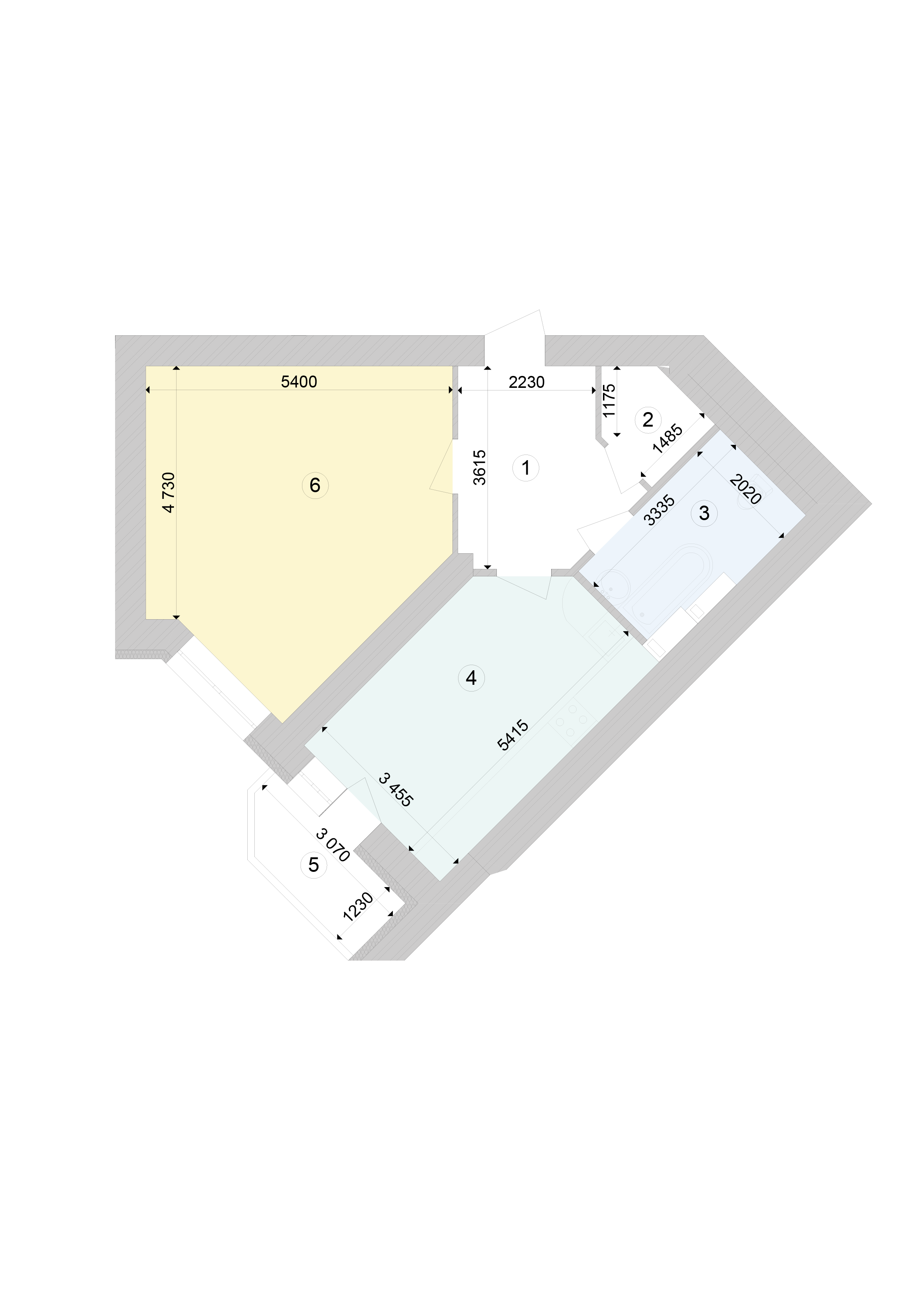 Купить Однокомнатная квартира 63,14 кв.м., тип 1.6, дом 1, секция 9 в Киеве Голосеевский район