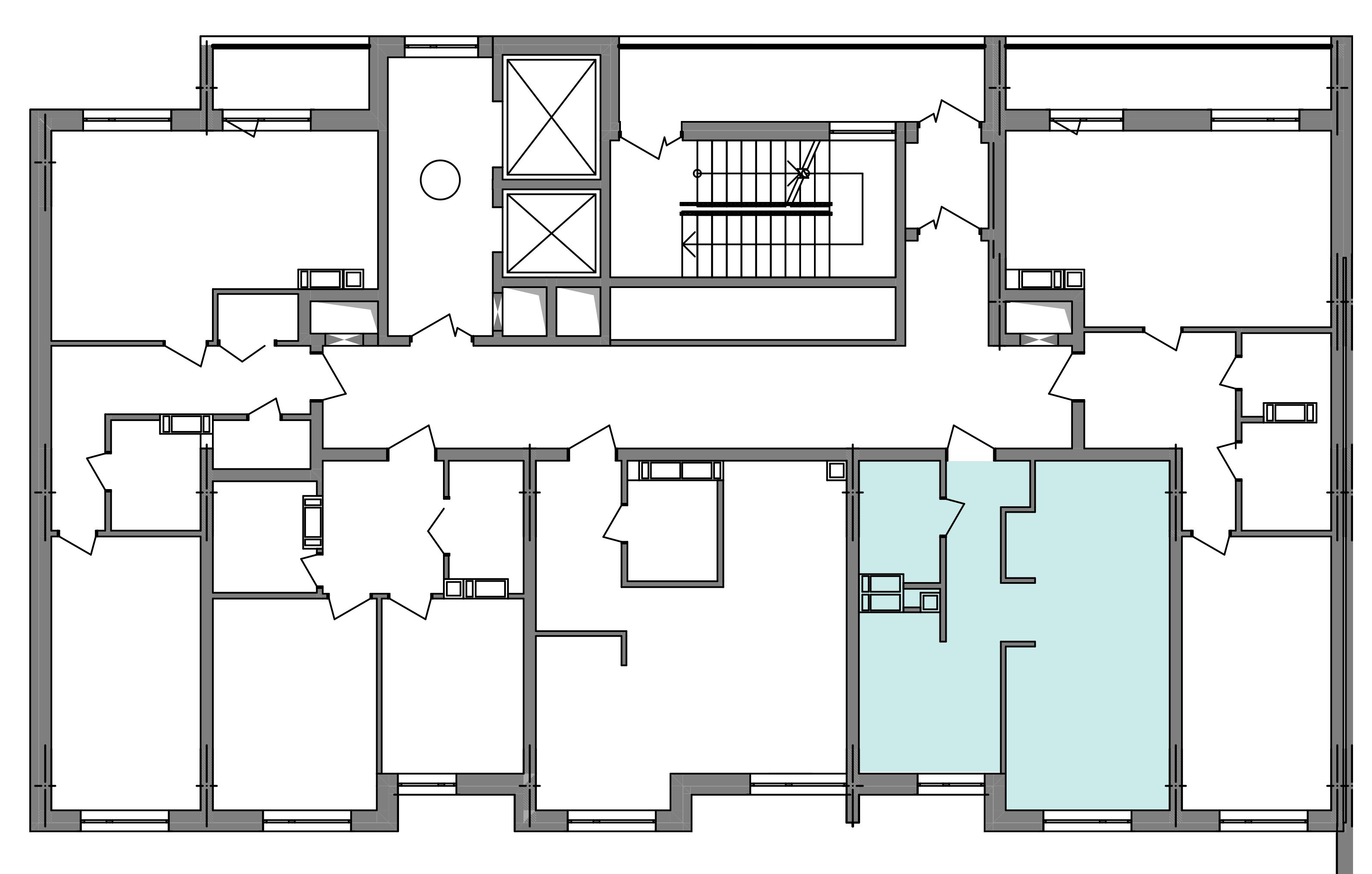 Однокімнатна квартира 39,77 кв.м., тип 1.1, будинок 3 секція 4 розташування на поверсі