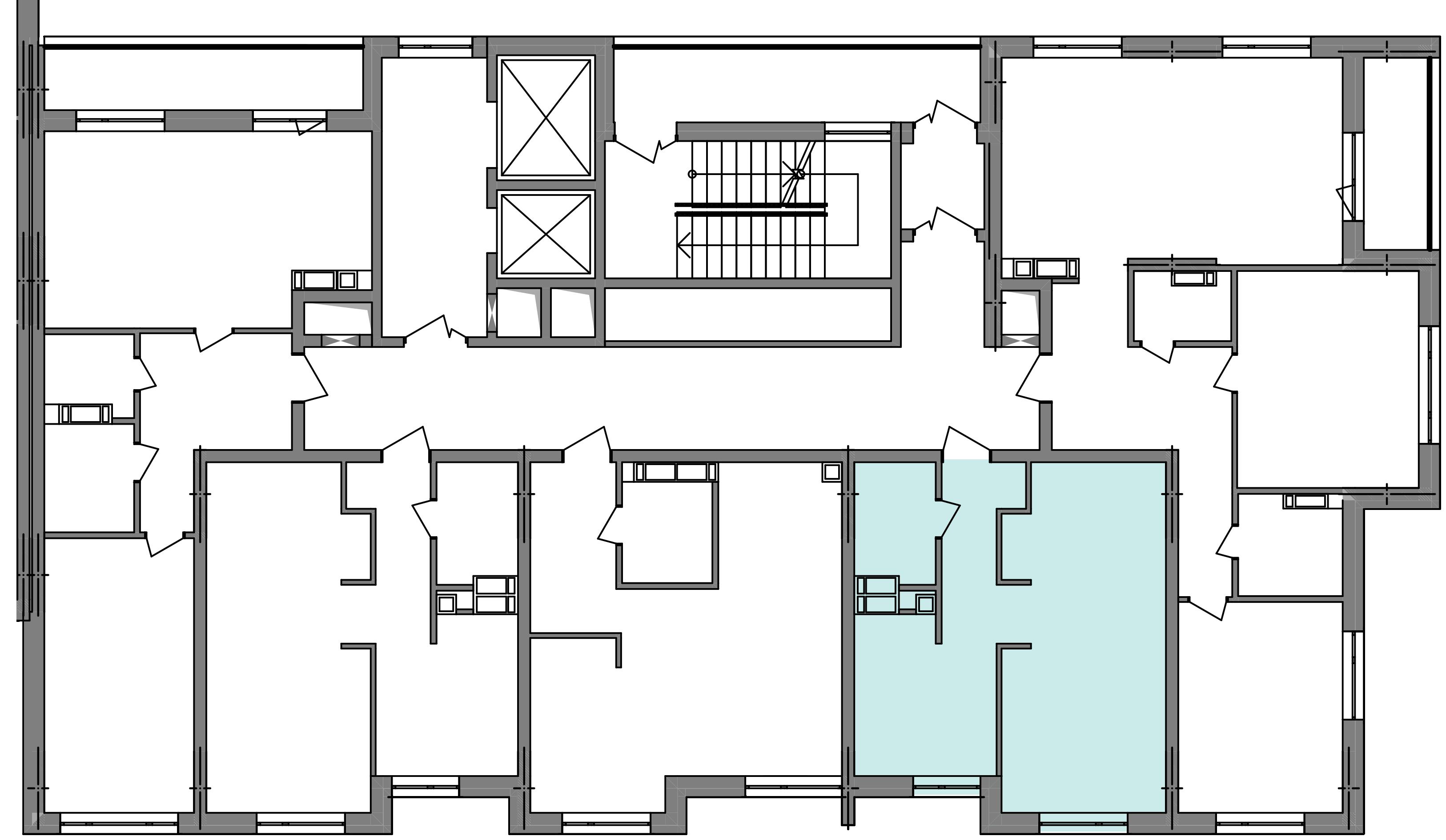 Однокімнатна квартира 39,77 кв.м., тип 1.1, будинок 3 секція 5 розташування на поверсі