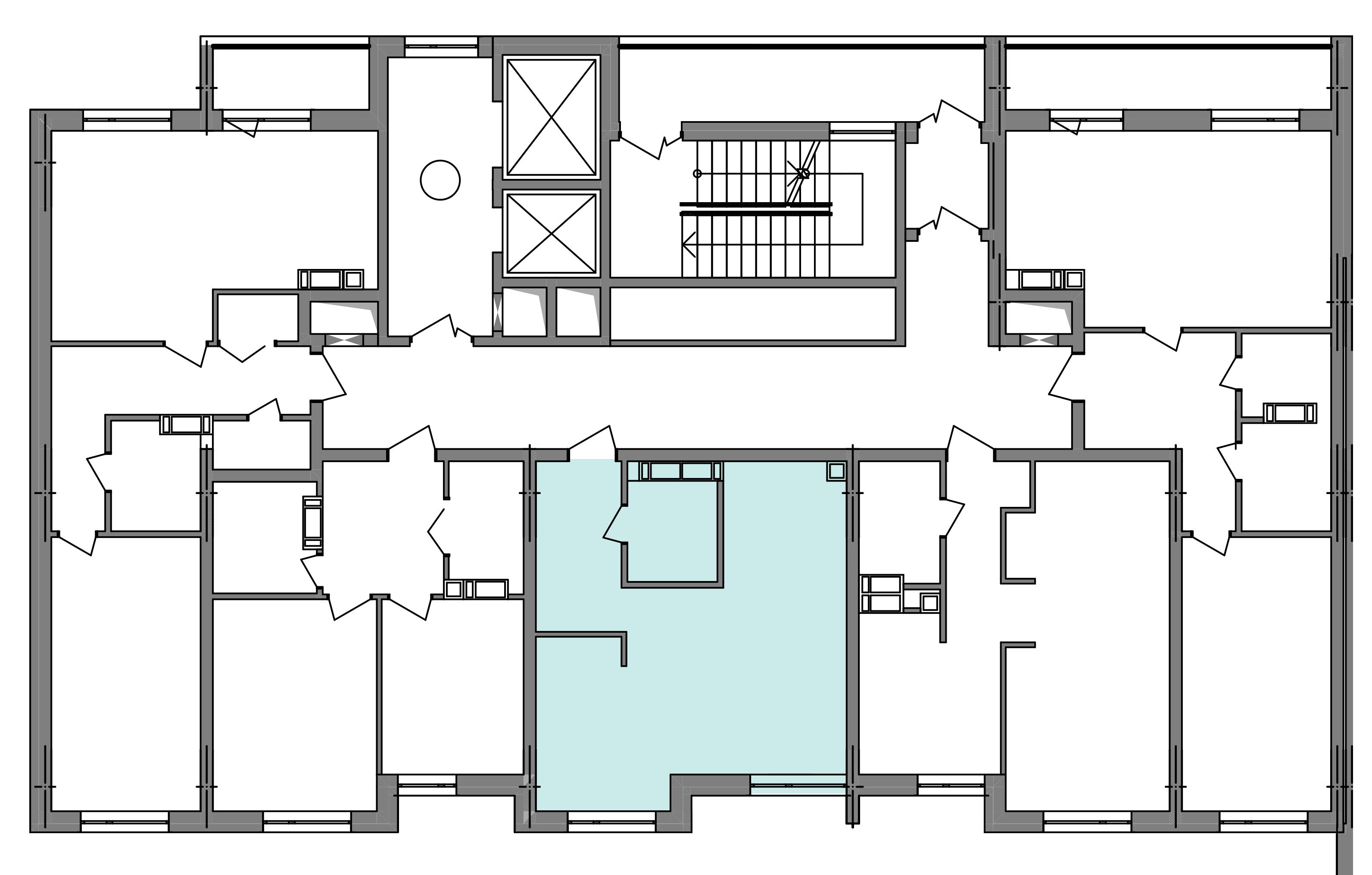 Однокімнатна квартира 39,63 кв.м., тип 1.2, будинок 3 секція 4 розташування на поверсі