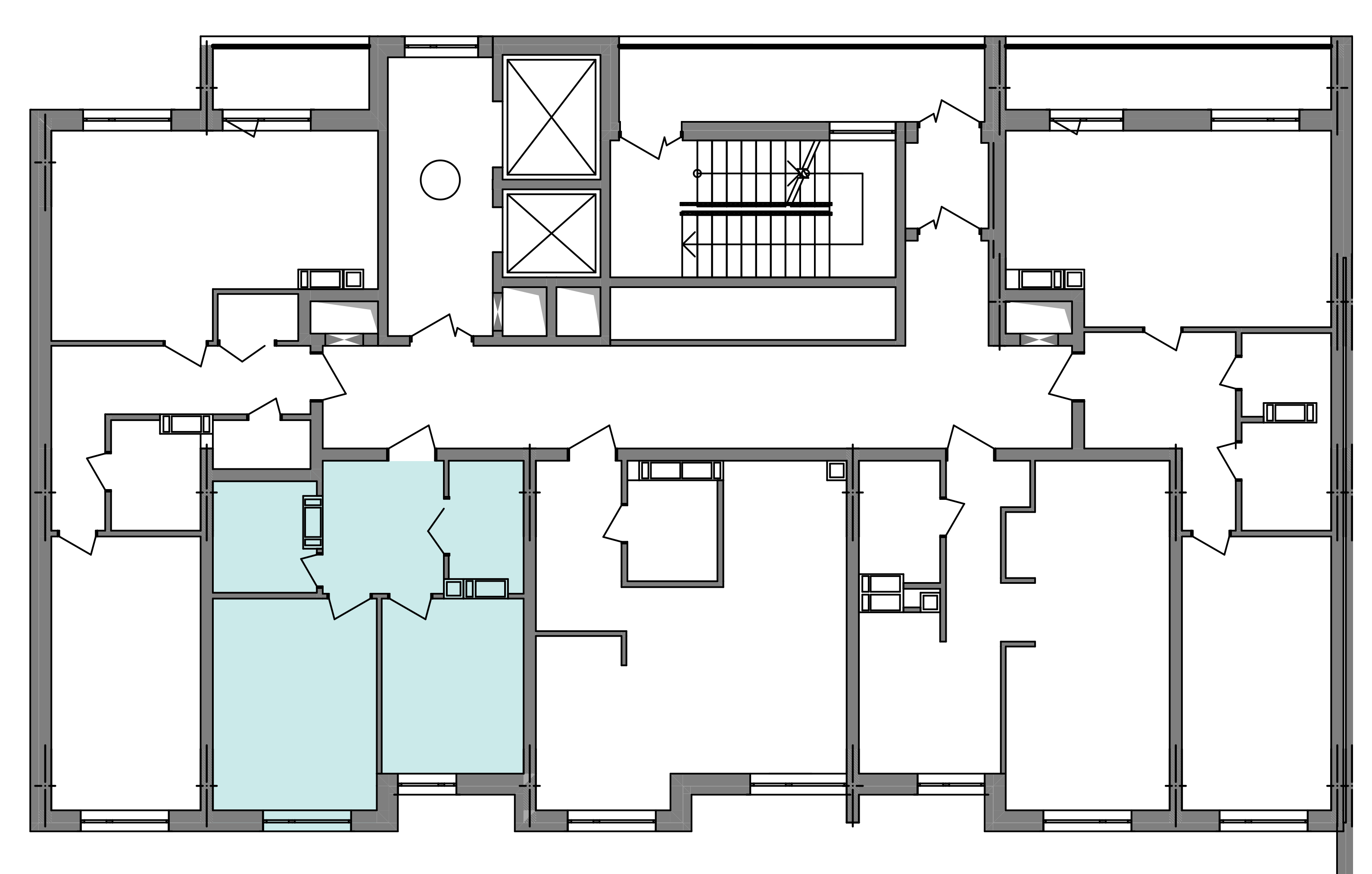 Однокімнатна квартира 38,68 кв.м., тип 1.3, будинок 3 секція 4 розташування на поверсі