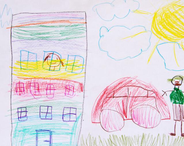 - Хочу жить высоко чтобы смотреть из окна как папа приехал с работы